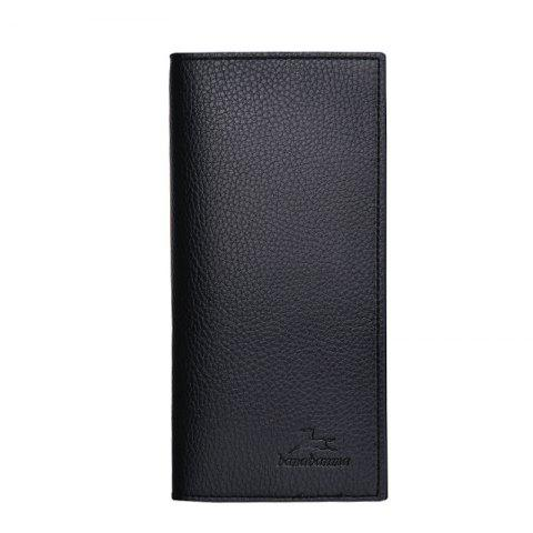 Hot Long Section of Young Men's Wallet Purse Lid Leather Wallet Purse