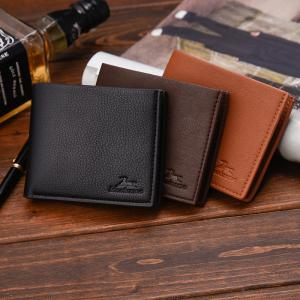 Portefeuille court New Business Leather Men's -