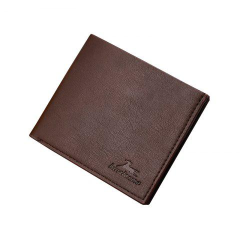 Portefeuille court New Business Leather Men's