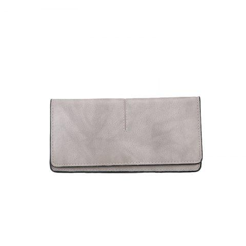Online Women's New Long Thin Section Simple Clutch