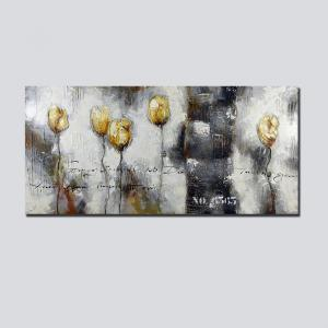 QiaoJiaHuaYuan No Frame Canvas Living Room Sofa Background Abstract Decorative Hanging Picture -