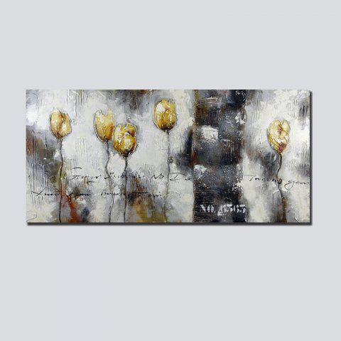 Chic QiaoJiaHuaYuan No Frame Canvas Living Room Sofa Background Abstract Decorative Hanging Picture