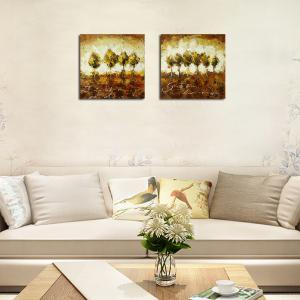 QiaoJiaHuaYuan No Frame Canvas Living Room Sofa Background two Sets of Picture Bedroom Study Abstract Hanging Picture -