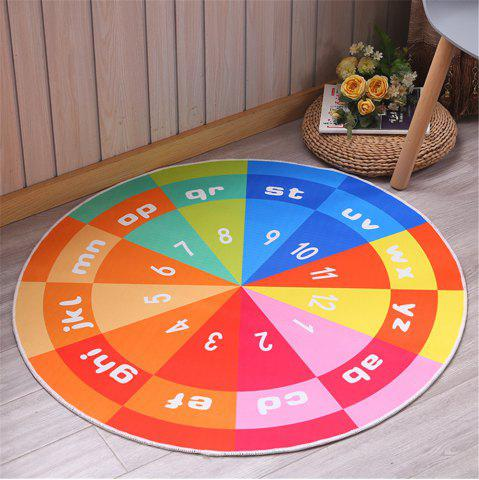 Latest 60cm Carpet Round Kids Gym Rug Play Game Mat Baby Crawling Blanket Outdoor Pad Room Decor