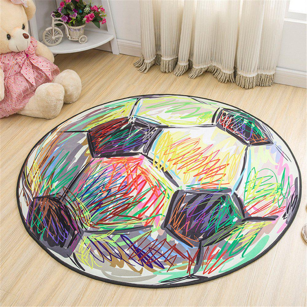 Trendy 60cm Carpet Round Kids Gym Rug Play Game Mat Baby Crawling Blanket Outdoor Pad Room Decor