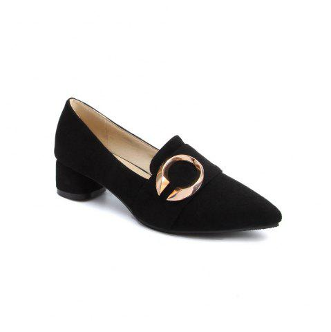 Cheap Thick and Shallow Pointed Shoes