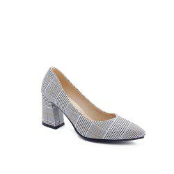 Miss Shoes Shallow Mouth High Heel Single Shoes -