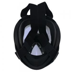 180 Degree Wide View Full Face Anti-leak Anti-fog Diving Snorkeling Mask Size S/M -