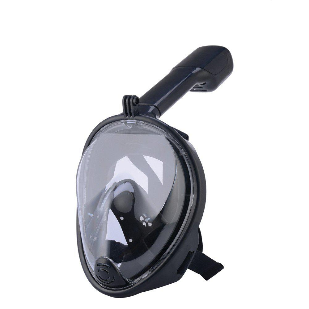 New 180 Degree Wide View Full Face Anti-leak Anti-fog Diving Snorkeling Mask Size S/M