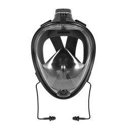 180 Degree Wide View Full Face Snorkel Mask Anti-fog Anti-leak Size S/M -