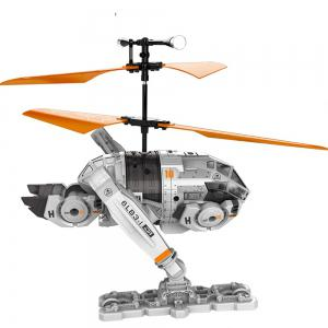 Attop IDR902 RC Helicopter with High Power Moter / 6 - axis Gyroscope / Buffer Taxiing Wheel -