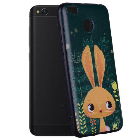 Shops Case For  Xiaomi Redmi 4X Rabbit Design Pattern Soft TPU Case