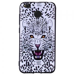 Case For  Xiaomi Redmi 4X Leopard Pattern Soft TPU Case -