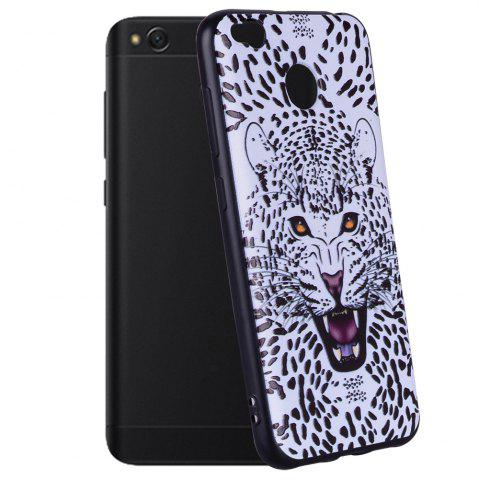 Chic Case For  Xiaomi Redmi 4X Leopard Pattern Soft TPU Case