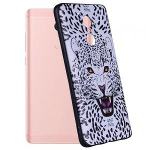 Case For  Xiaomi Redmi NOTE4 Leopard Pattern Soft TPU Case -