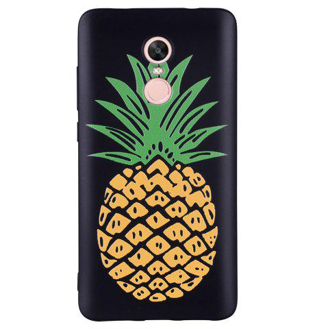 Outfits Case For  Xiaomi Redmi NOTE4  Pineapple  Pattern Soft TPU Case