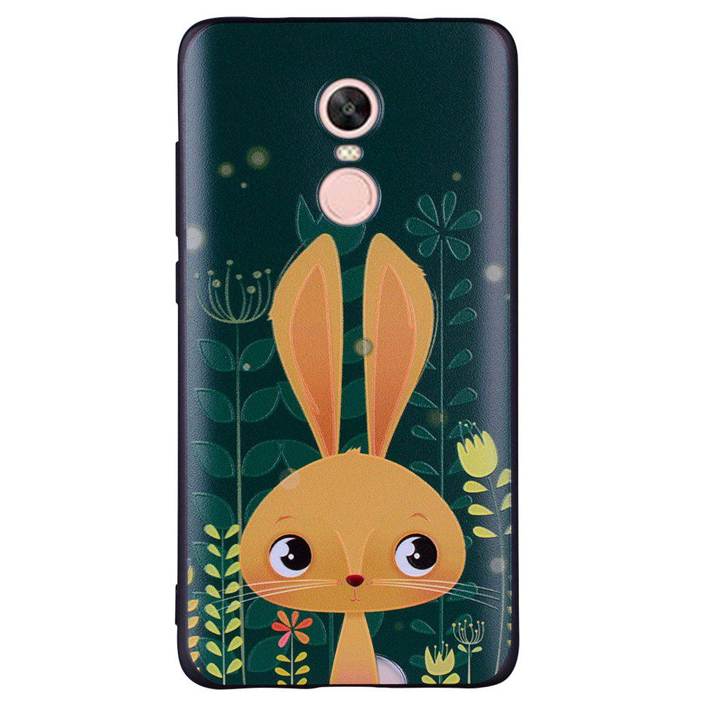 Discount Case For Xiaomi Redmi NOTE4X Rabbit Design Soft TPU Hand Case