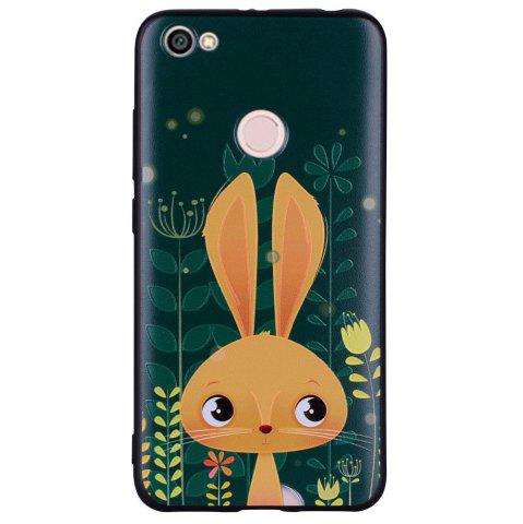 Online Case For Xiaomi Redmi NOTE5A Rabbit Design Soft TPU Hand Case