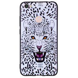 Case For Xiaomi Redmi NOTE5A White Leopard Design Soft TPU Hand Case -