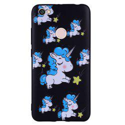 Case For Xiaomi Redmi NOTE5A Unicorn Design Soft TPU Mobile Phone Case -