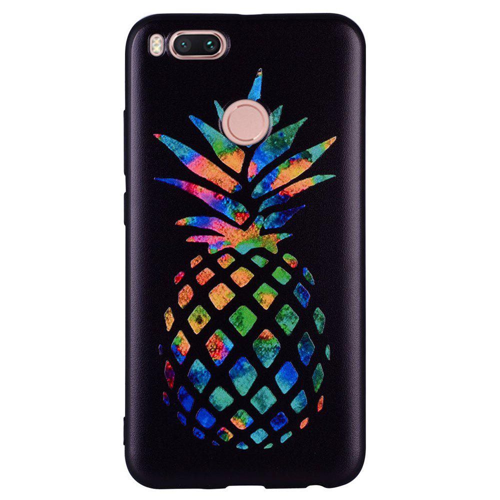 Trendy Phone Case For Xiaomi 5X Color Pineapple Design Soft TPU Hand Case
