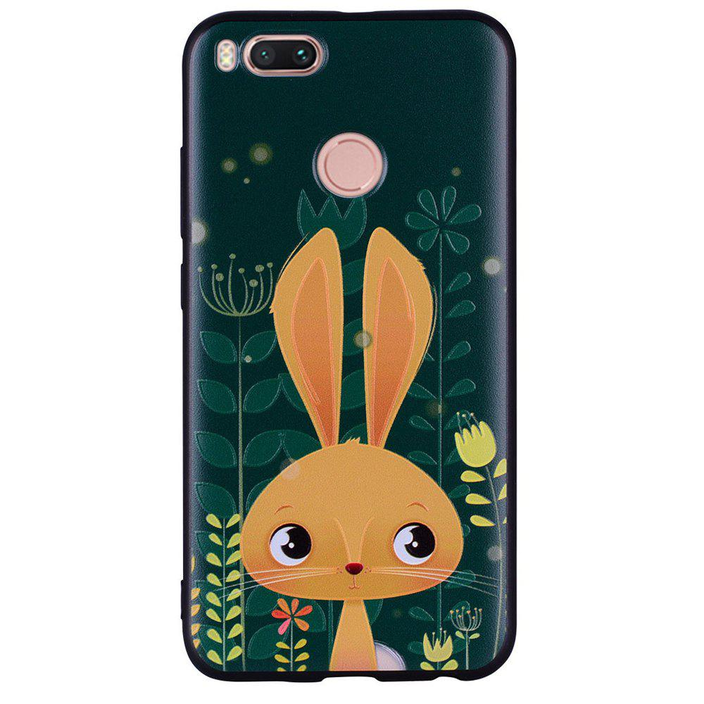Cheap Phone Case For Xiaomi 5X  Rabbit   Design Soft TPU Hand Case