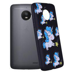 For MOTO E4Plus Unicorn TPU Mobile Phone Protection Shell -