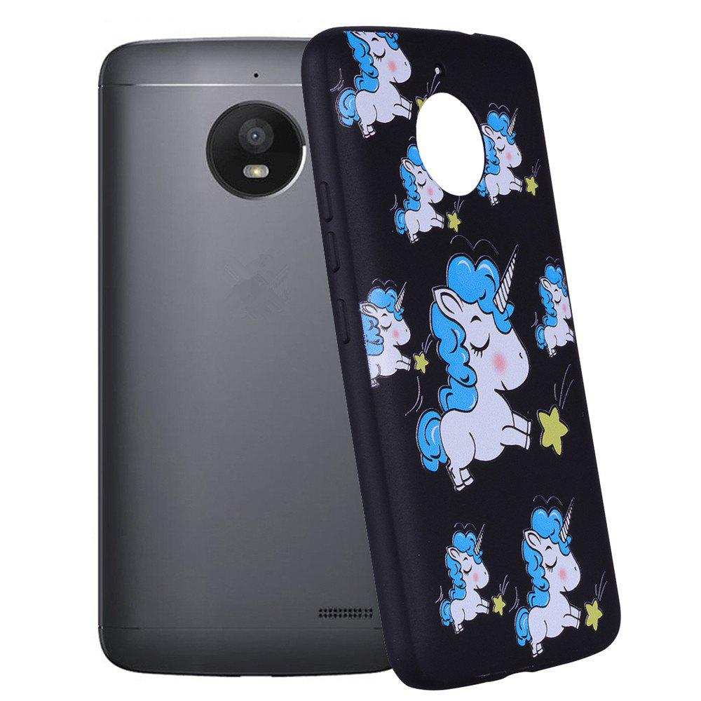 Trendy For MOTO E4Plus Unicorn TPU Mobile Phone Protection Shell