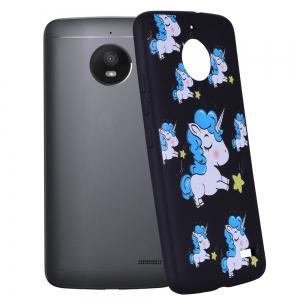 For MOTO E4 Unicorn TPU Mobile Phone Protection Shell -