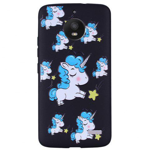 Discount For MOTO E4 Unicorn TPU Mobile Phone Protection Shell