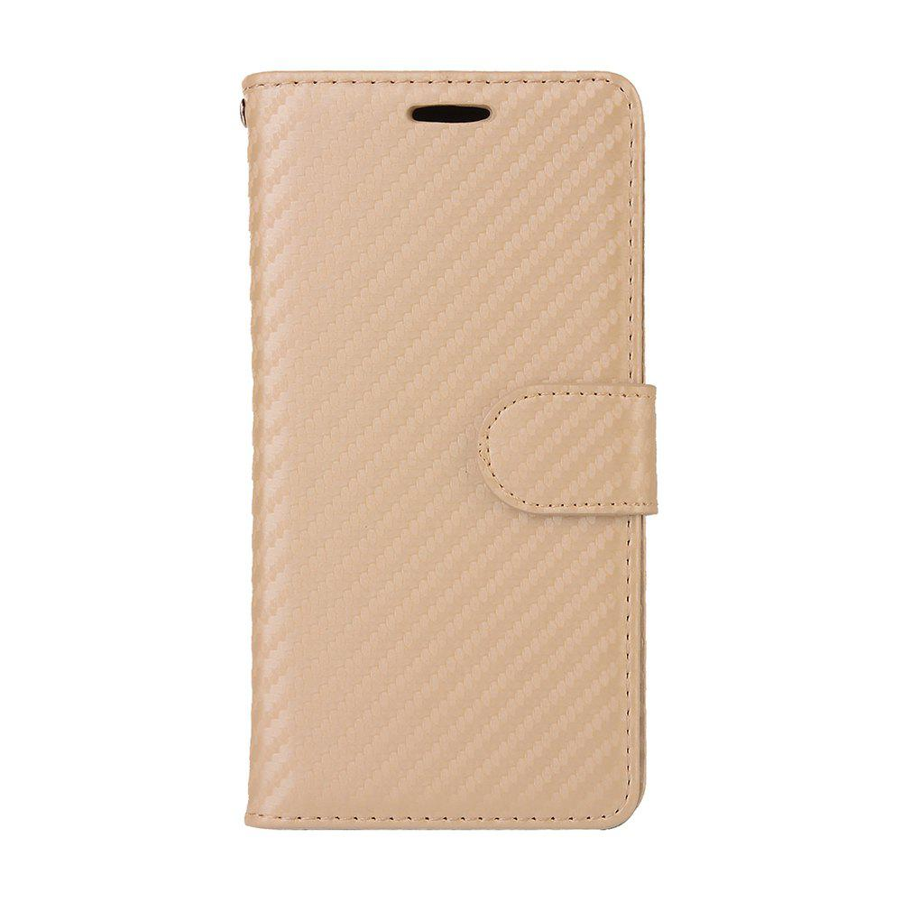 Best Carbon Fiber Flip Case for Huawei Mate 10 Card Holder Wallet Cover with Stand Function