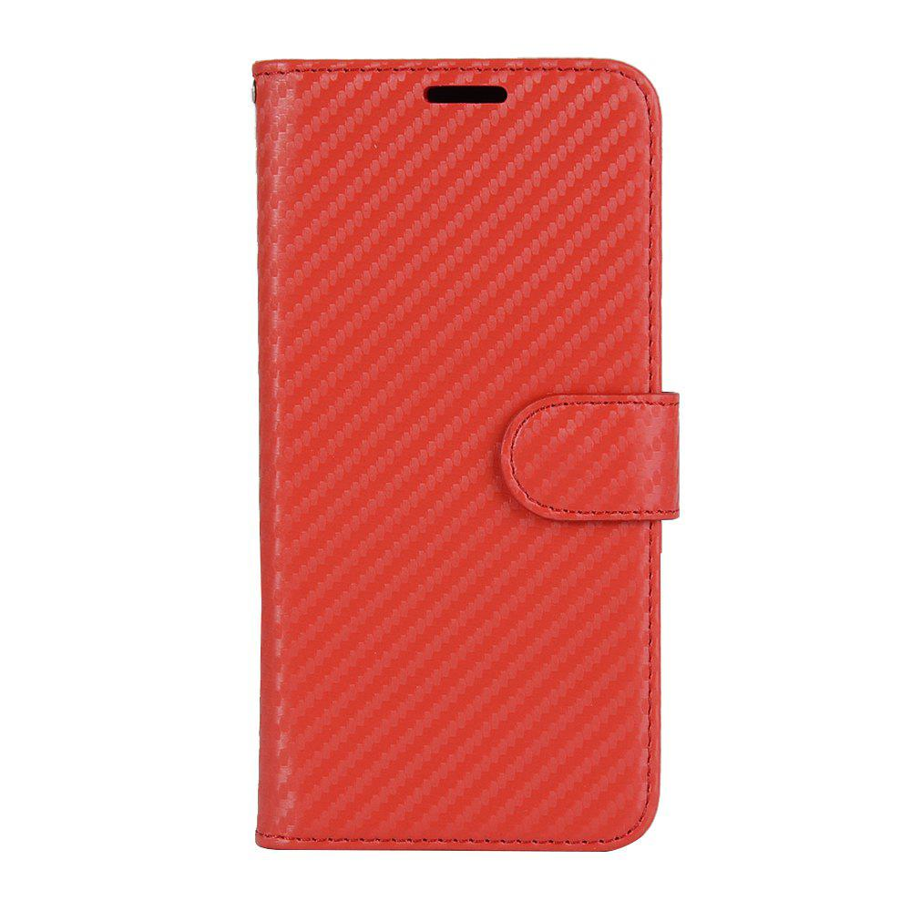 Store Carbon Fiber Flip Case for Huawei Mate 10 Card Holder Wallet Cover with Stand Function