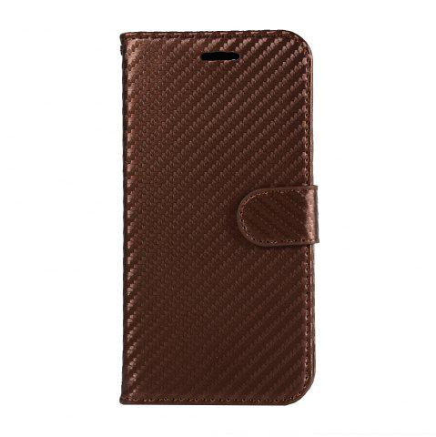 Shops Carbon Fiber Flip Case for Huawei Honor V10 Wallet Cover with Stand Function