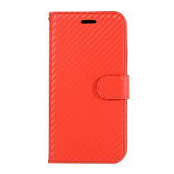 Carbon Fiber Flip Case for Huawei Honor V10 Wallet Cover with Stand Function -