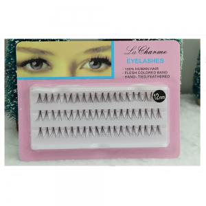 Individual Lashe Black Natural Fake False Eyelash Long Cluster Extension Makeup -