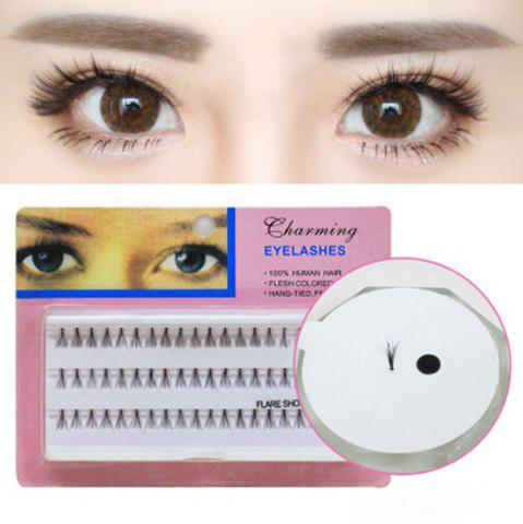 Sale Individual Lashe Black Natural Fake False Eyelash Long Cluster Extension Makeup