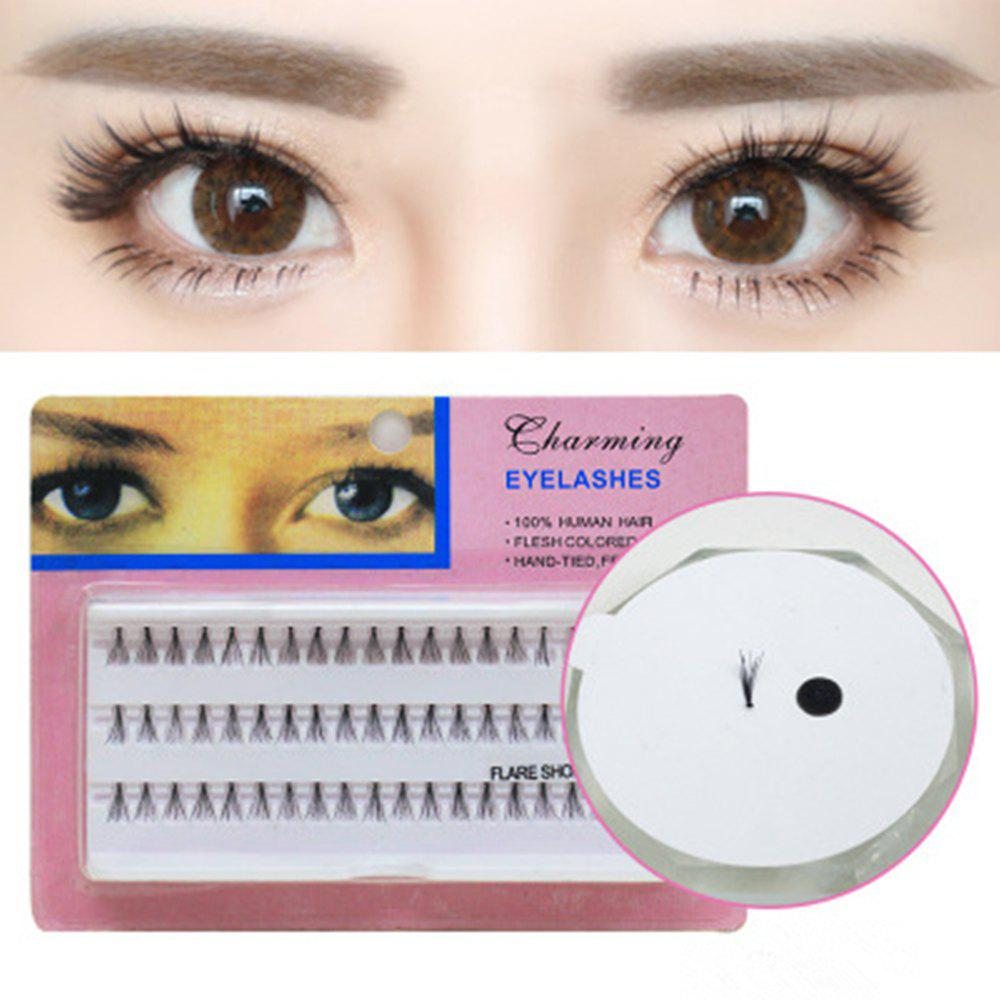 Discount Individual Lashe Black Natural Fake False Eyelash Long Cluster Extension Makeup
