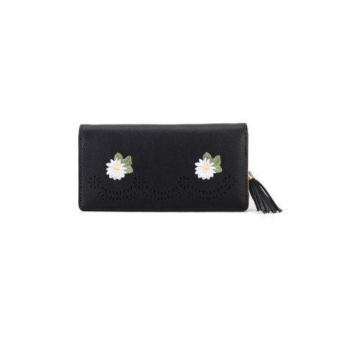 Nouvelle personnalité Zipper Small Fresh Long Purse Femme