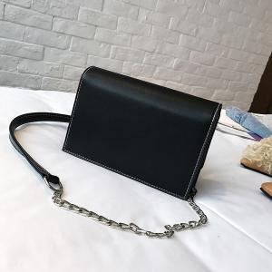Sequined Fashion Buckle Small Square Wild Casual Shoulder Messenger Shoulder Bag -