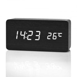 Creative Home Bedside Wooden Style Clock -