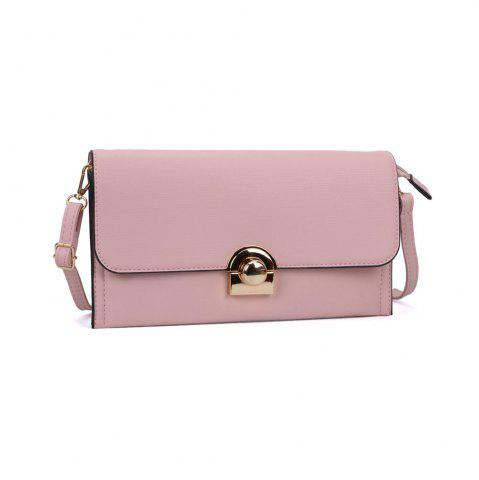 Affordable Women's Handbag Brief Style All Match Buckle Bag