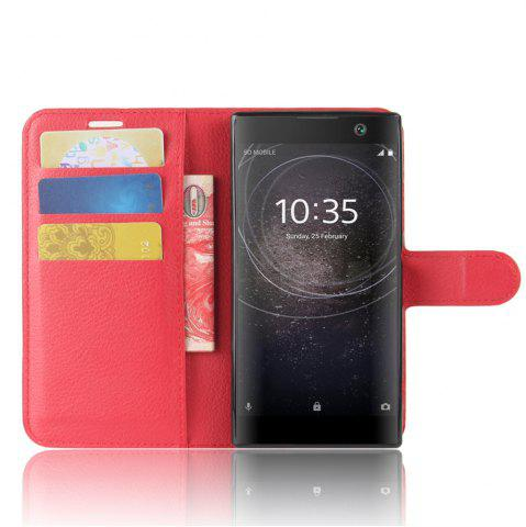 Chic PU Leather Flip-Open Full Body Case Cover for Xperia XA2