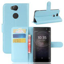 PU Leather Flip-Open Full Body Case Cover for Xperia XA2 -