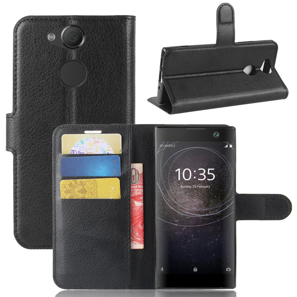 Outfits PU Leather Flip-Open Full Body Case Cover for Xperia XA2