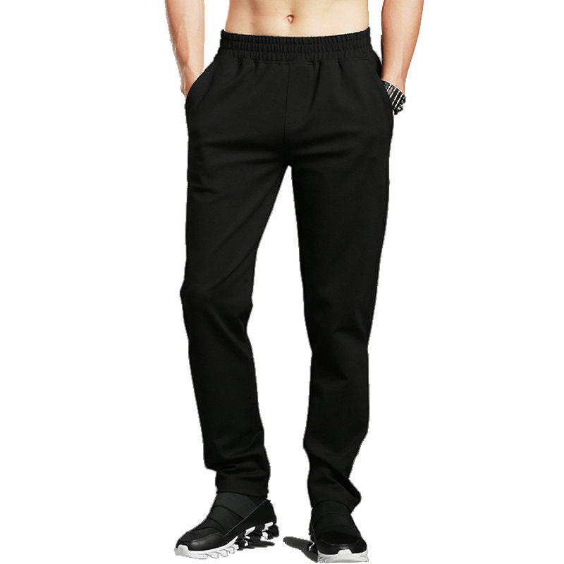 Shop Slim Fit Elasticity Casual Pants