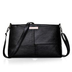 Simple All-match Tide Messenger Shoulder Hand Female Korean Atmospheric Wind Port  Bag -