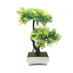 Simulation décorative plante en pot Bonsai -