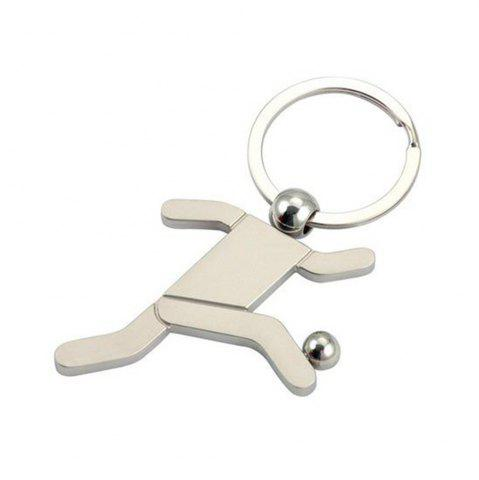 Trendy Creative Personality Football Key Ring Jewelry