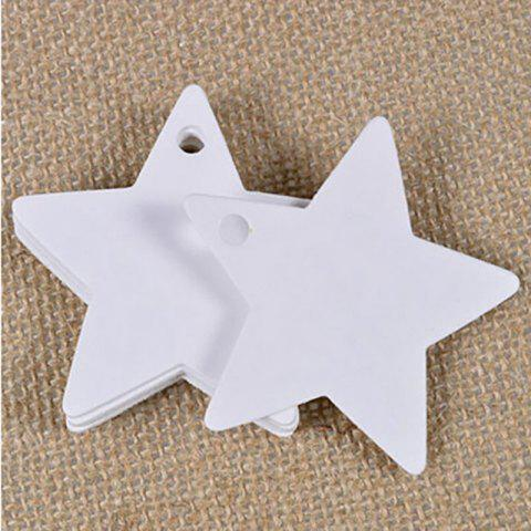 DIHE DIY Cinq - Pointed Star Party Retro Ornementation 50PCS