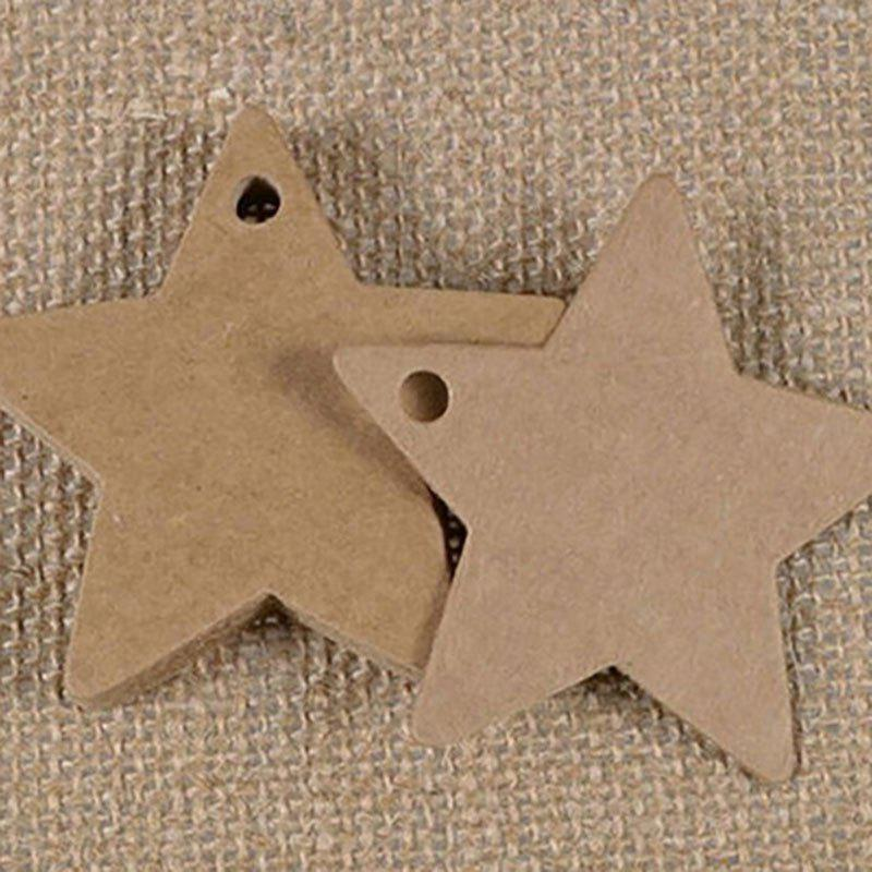 Sale DIHE DIY Five - Pointed Star Party Retro Ornamentation 50PCS